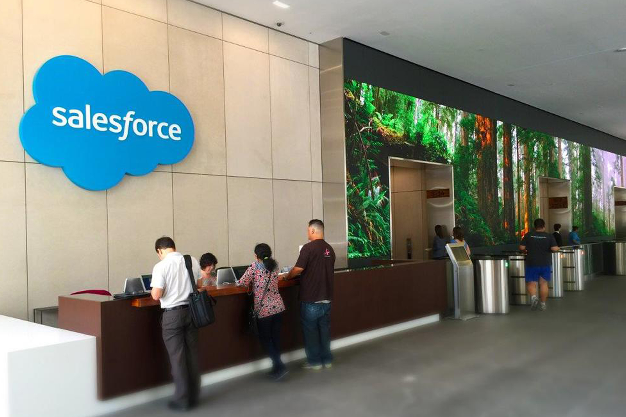salesforce  50 fremont